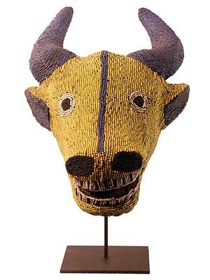 Bamileke Buffalo Mask 1, Cameroon