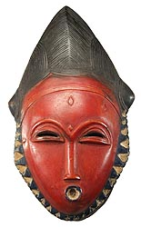 Image result for baule masks ivory coast