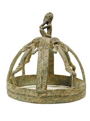 Dogon Metal Crown 23, Mali