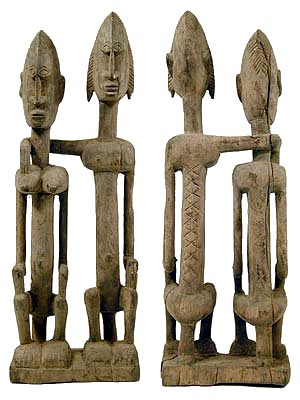 the primordial couple of the dogon represents