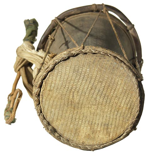 how to play talking drum