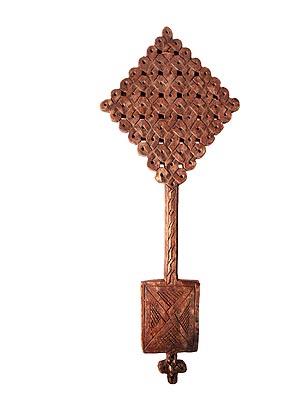 Ethiopian Wooden Cross Wooden Cross 142
