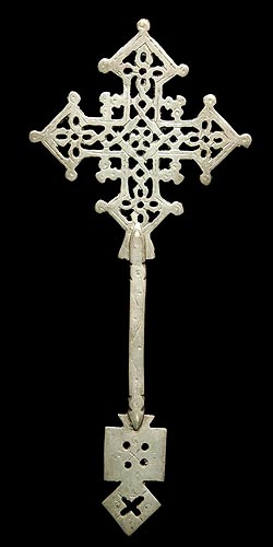 Ethiopian Wooden Cross Ethiopian Hand Cross 1...