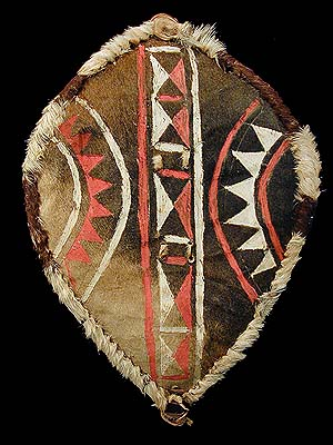What Is Leather Made Of >> MAASAI SHIELD 8