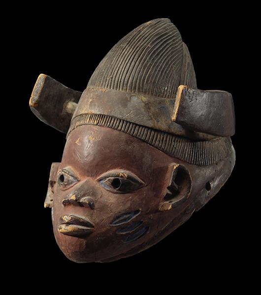 Yoruba Gelede Mask 49, Nigeria